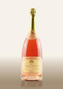 Champagne: Brut grande reserve rose 1er cru Flasche Magnum