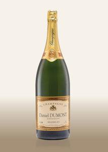 Champagner: Brut prestige millesime 1er cru Flasche Magnum