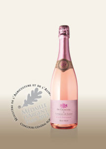 Cremant: Cremant de Loire Rose Brut Flasche